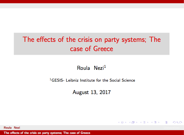 Summer School: Alternative Economic and Monetary Systems.